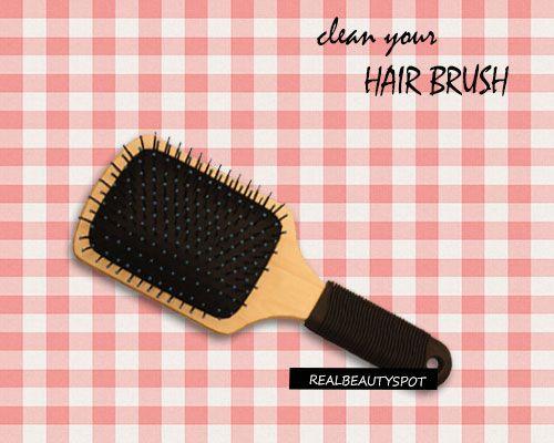 Fotografía - Consejos y trucos para la limpieza de su cepillo de pelo