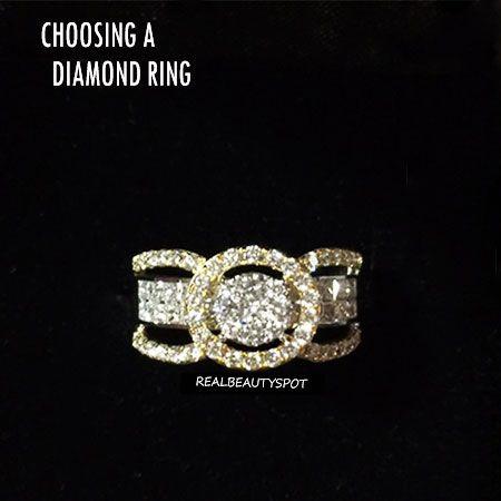 Consejos para elegir un anillo de diamantes