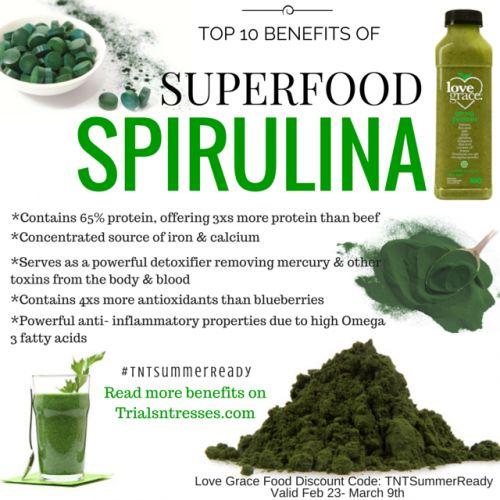 Fotografía - Las 10 ventajas de agregar superalimento Spirulina a su vida