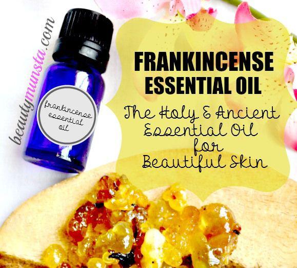 Fotografía - Top 10 Beneficios de incienso aceite esencial para la piel