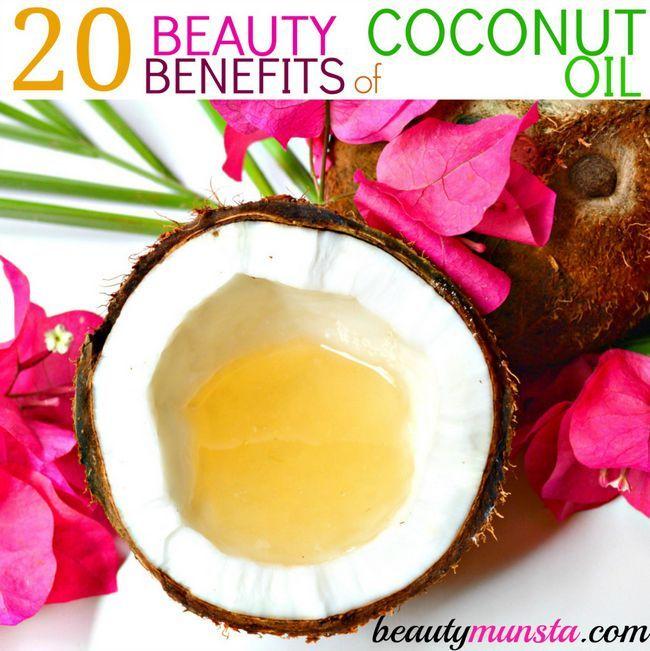Fotografía - Top 20 de Belleza Beneficios del aceite de coco