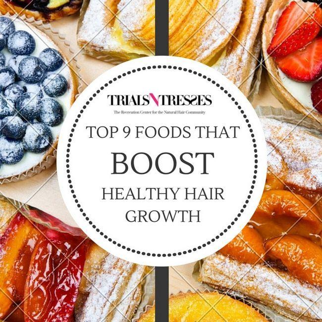 Fotografía - Top 9 alimentos que alzan saludable crecimiento del pelo