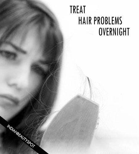 Fotografía - Tratar 5 problemas del cabello durante la noche con remedios naturales