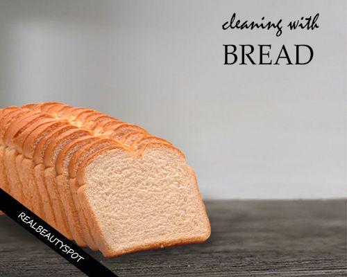 Fotografía - Utilice el pan para la limpieza