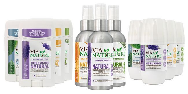 Fotografía - Via Naturaleza Natural Desodorante