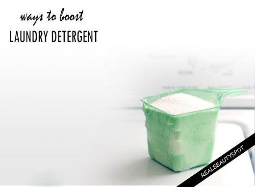 Fotografía - Formas de impulsar detergente para la ropa