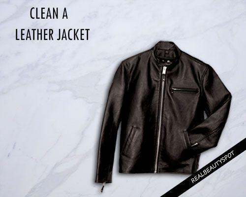 Fotografía - Maneras de limpiar una chaqueta de cuero