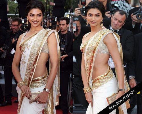 Fotografía - Maneras de mirar delgada en sari