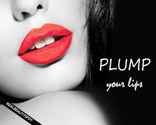 Fotografía - Maneras para rellenar los labios de forma natural