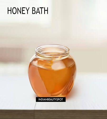 Fotografía - Maneras de utilizar la miel en el baño