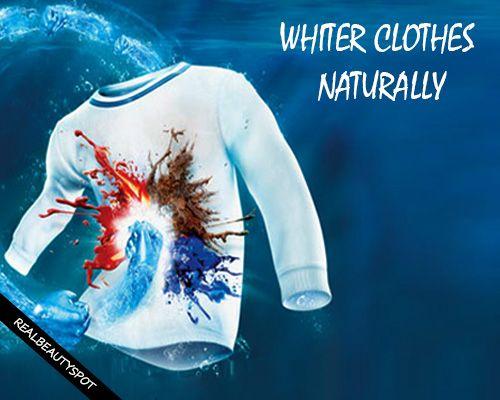 Fotografía - Blanquear la ropa y eliminar las manchas de forma natural